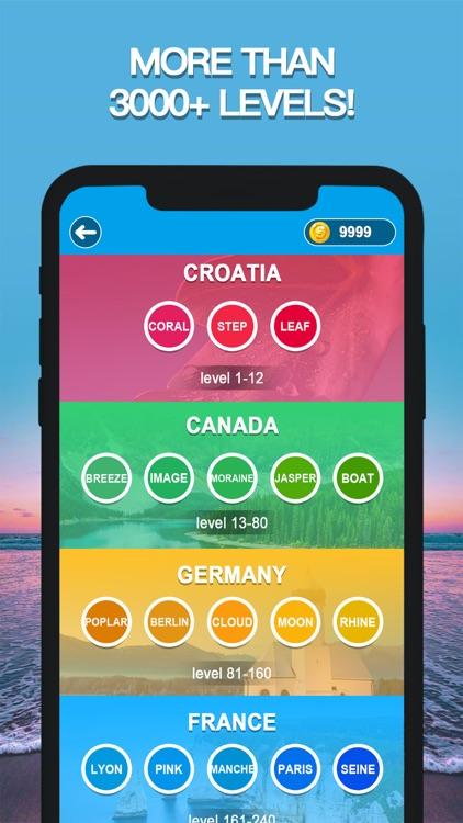 Word Crossing: Fun & Search screenshot-4