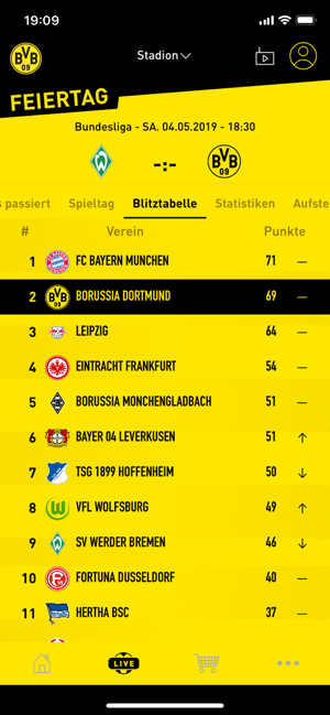 ‎Borussia Dortmund Screenshot