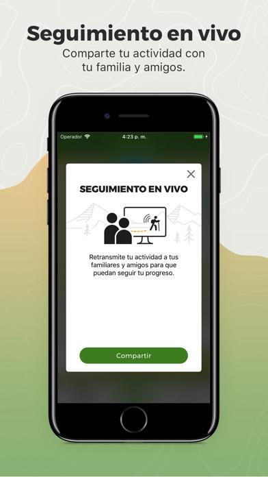 Screenshot for Wikiloc Navegación Outdoor GPS in Peru App Store