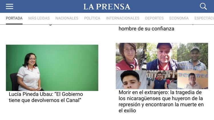 LA PRENSA screenshot-3