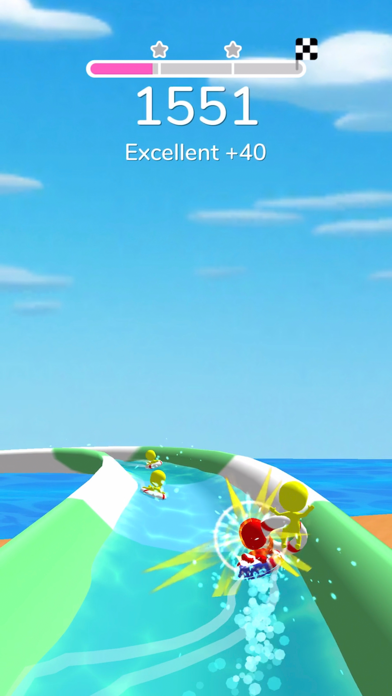 Waterpark: Slide Race screenshot 1