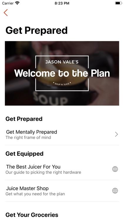 Jason's Soup n Juice Diet screenshot-4