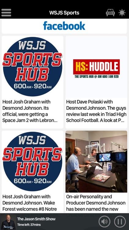 WSJS Sports