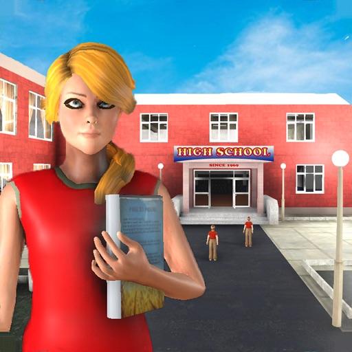 High School Girls Life Games iOS App