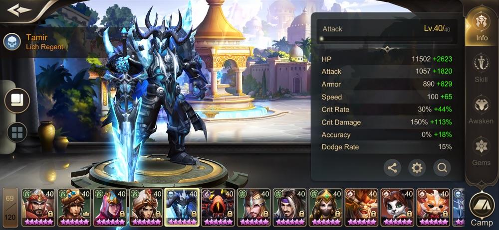 Rise of Heroes - RoH hack tool