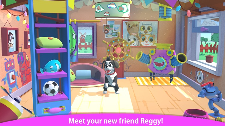 Peppy Pals - Reggy's Play Date screenshot-0