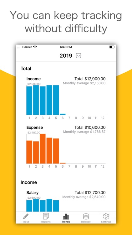 MoneyLog - Easy Bookkeeping screenshot-3