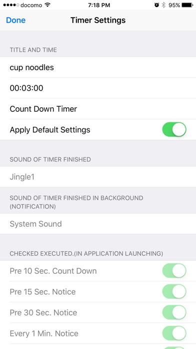 Announcement Useful Timer screenshot three