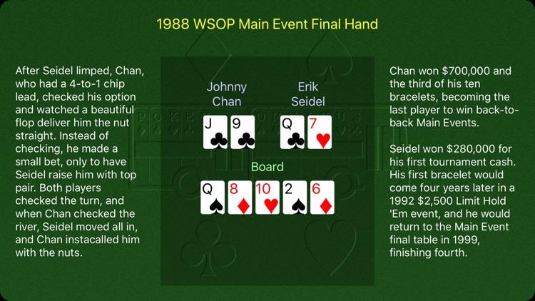 Poker Omnibus W50P screenshot-3