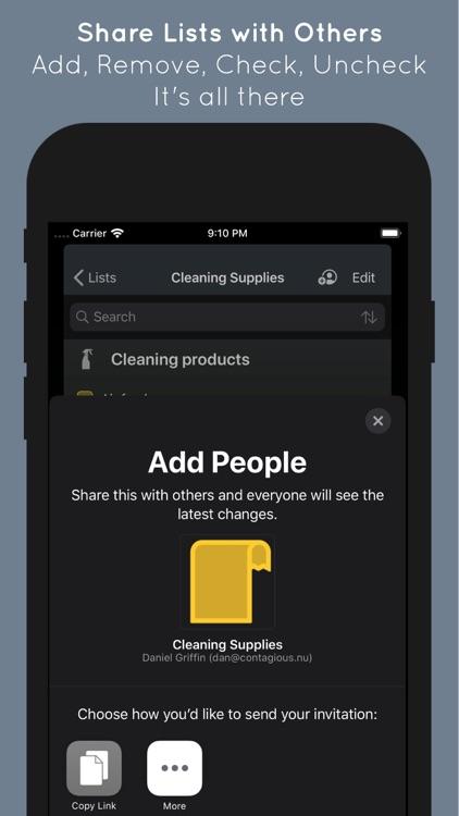 Caramel Grocery List screenshot-3