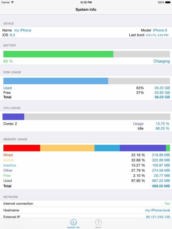 Easy System Info Screenshots