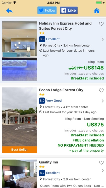 Hotels for Tablets