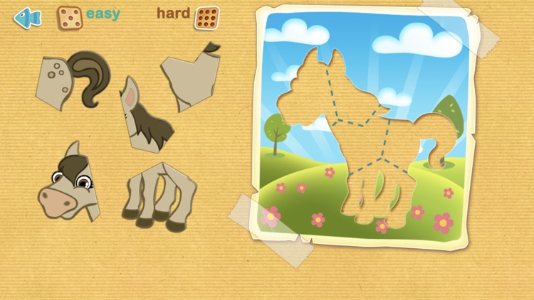 Tashi Animated Puzzle screenshot-2
