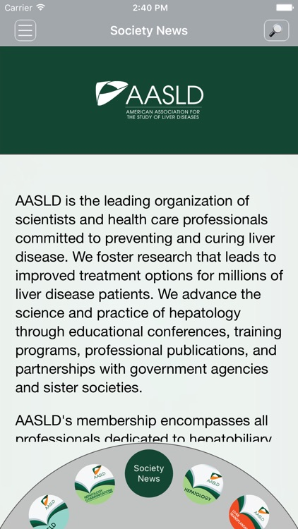AASLD Journals screenshot-1