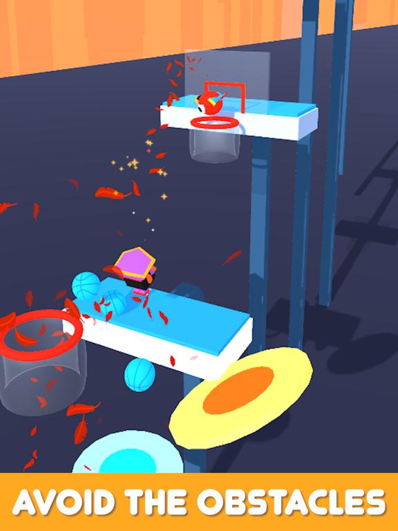 iPad Image of Basket Race 3D