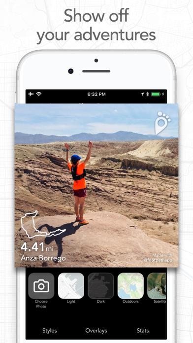 Footpath Route Planner Screenshot
