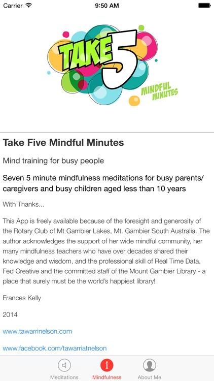 Take 5 Mindful Minutes screenshot-3