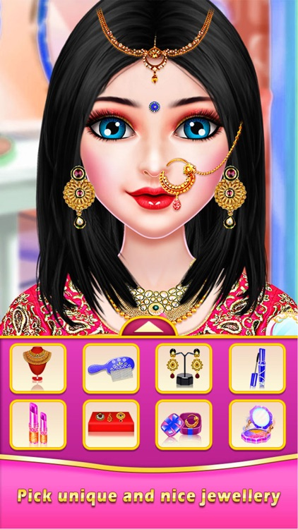 Indian Wedding Doll Maker screenshot-4