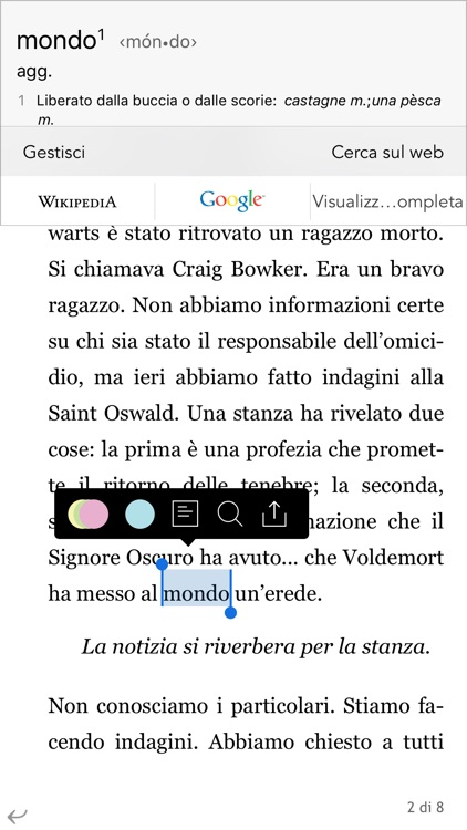 La Feltrinelli Kobo screenshot-3