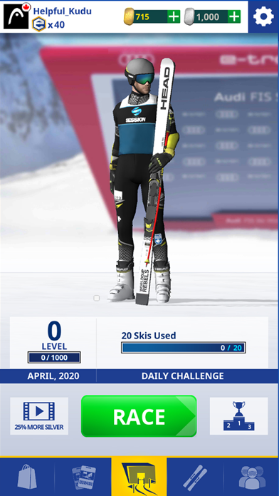 World Cup Ski Racing screenshot 1