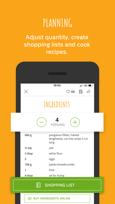 FOOBY: Recipes & More screenshot two
