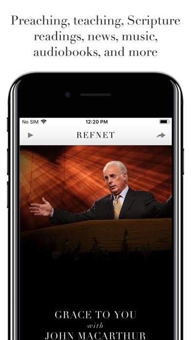 RefNet Christian Radio screenshot two