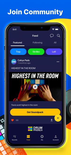 Drum Pads 24 – Music Recording Screenshot