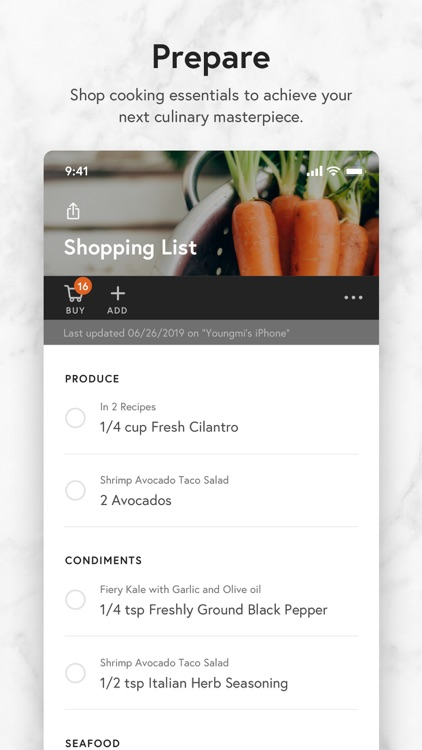 Yummly Recipes + Shopping List screenshot-3