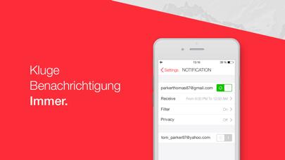 Email Programm – myMailScreenshot von 3