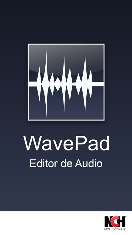WavePad, editor de audio