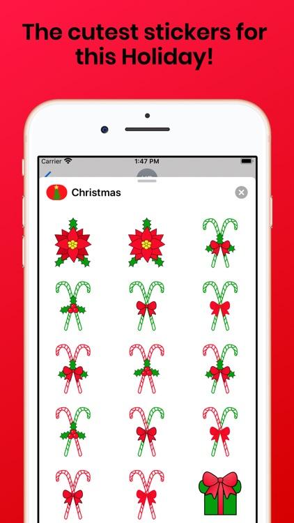 Christmas Holiday for iMessage screenshot-5