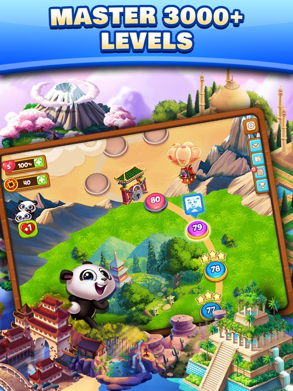 Panda Pop! Bubble Shooter Game-ipad-4