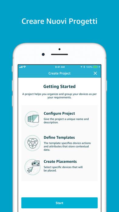 Screenshot of AWS IoT 1-Click1