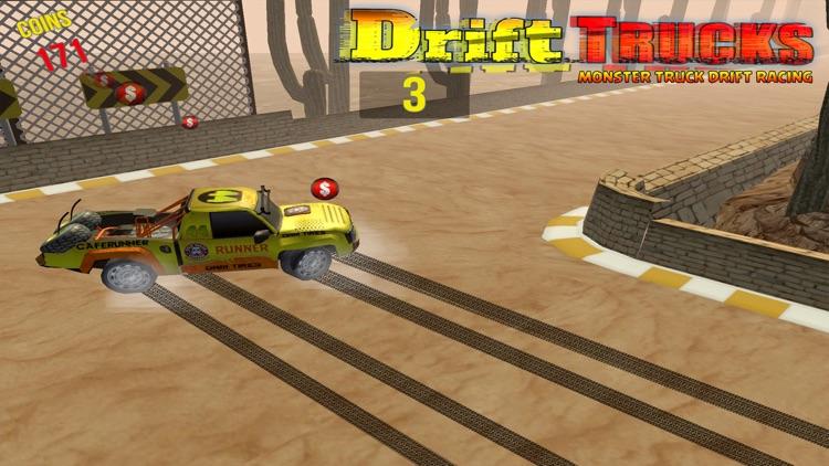 Racing Monster Trucks Drift 3D screenshot-3