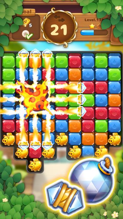 Jewels Garden : Blast Puzzle screenshot 2
