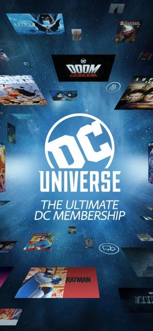 Dc Universe En App Store - Dc-universe-us-map