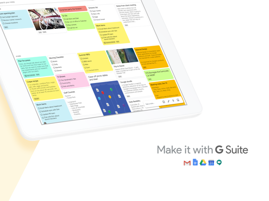 Google Keep - Notes and lists-ipad-4
