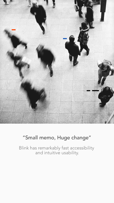 Blink - Quick Memo screenshot one