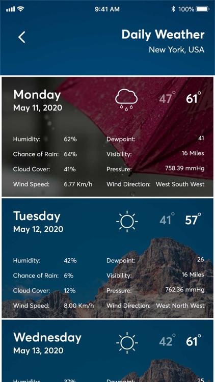 Weather forecast - radar screenshot-5