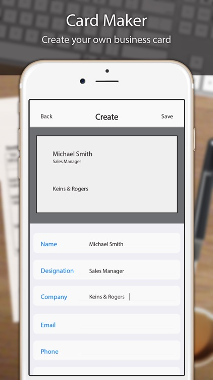 Business Card Scanner Pro