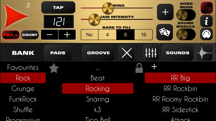 Rock Drum Machine screenshot-0