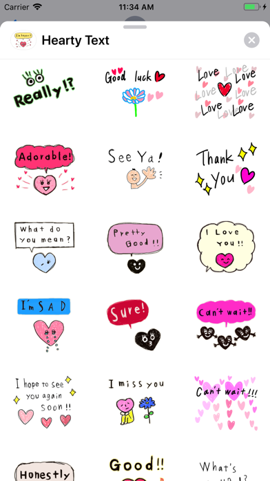 Hearty Text screenshot 3