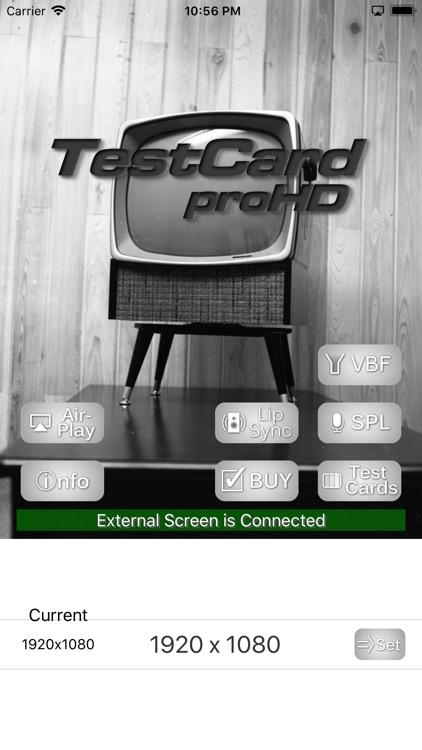 TestCard ProHD 4k