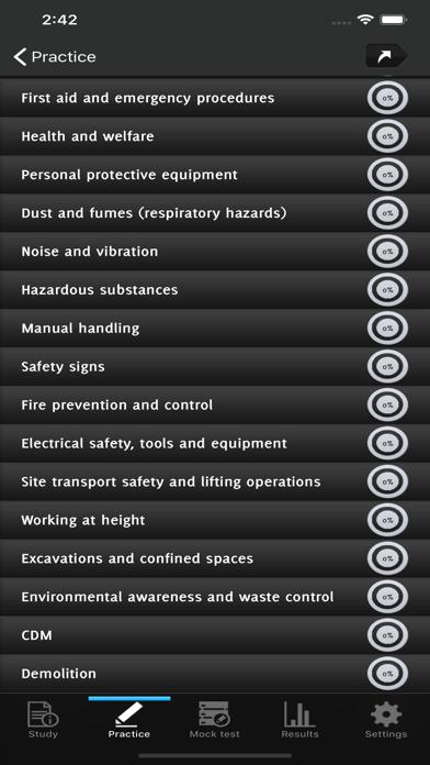 CSCS MAP Test Revision screenshot 2