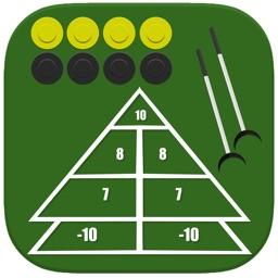 Shuffleboard Score Keeper