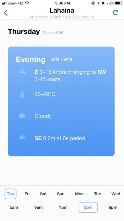 PredictWind — Marine Forecasts screenshot-6