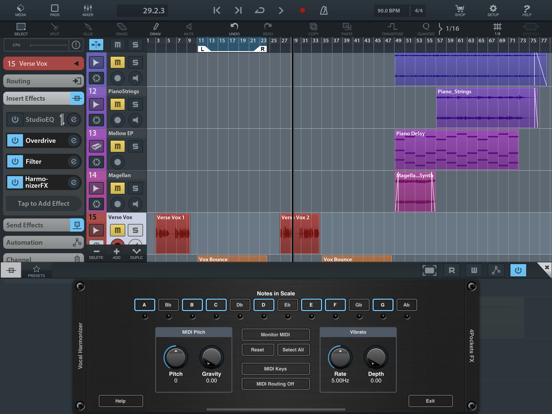 Vocal Harmonizer AUv3 Plugin screenshot 12