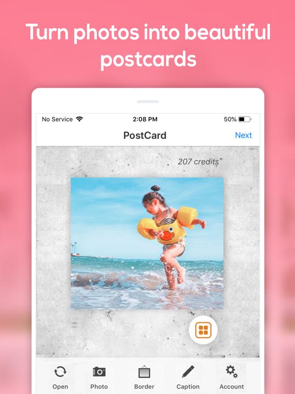 SnapShot Postcard screenshot