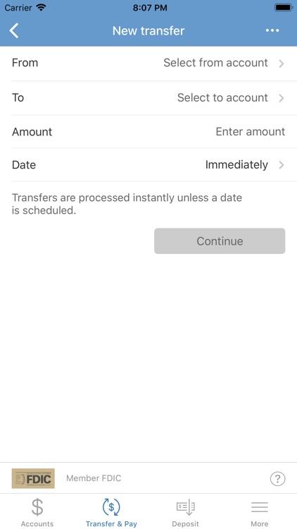 First Mid Bank & Trust Mobile screenshot-4
