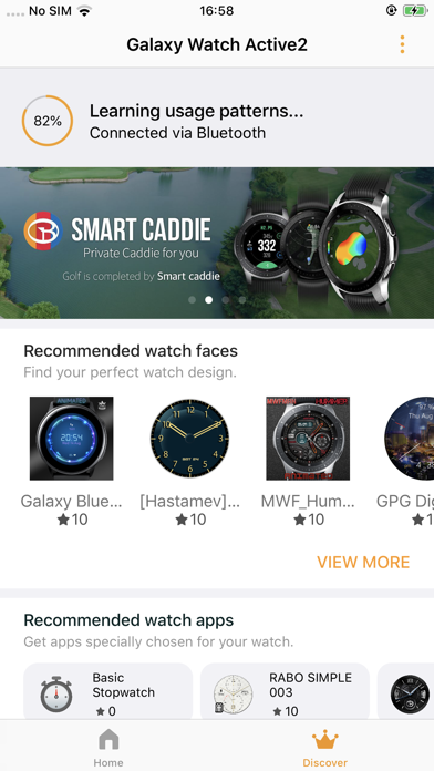 Screenshot for Samsung Galaxy Watch (Gear S) in Germany App Store